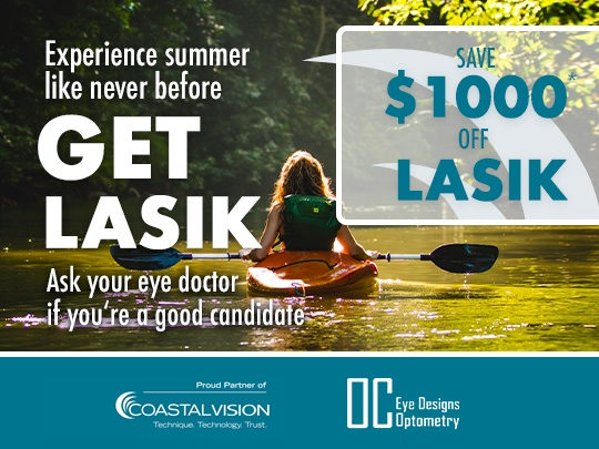 Save $1000 when you get LASIK