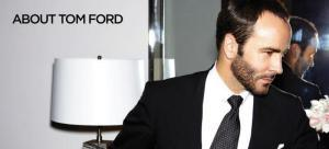 Fashion design leader Tom Ford