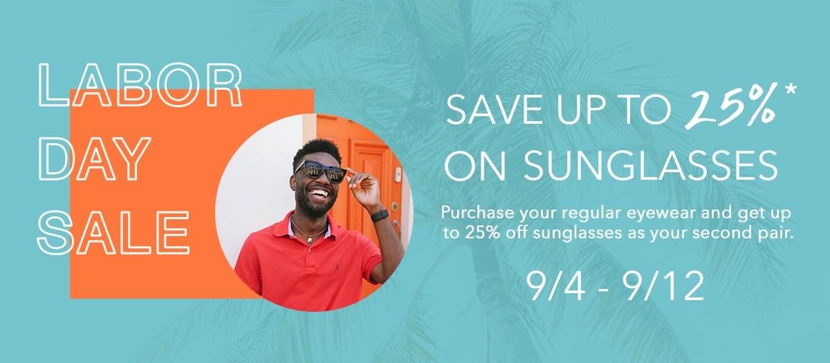 Labor Day sunglasses special in Costa Mesa