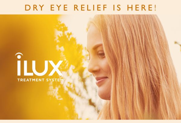 Dry eye relief is here!