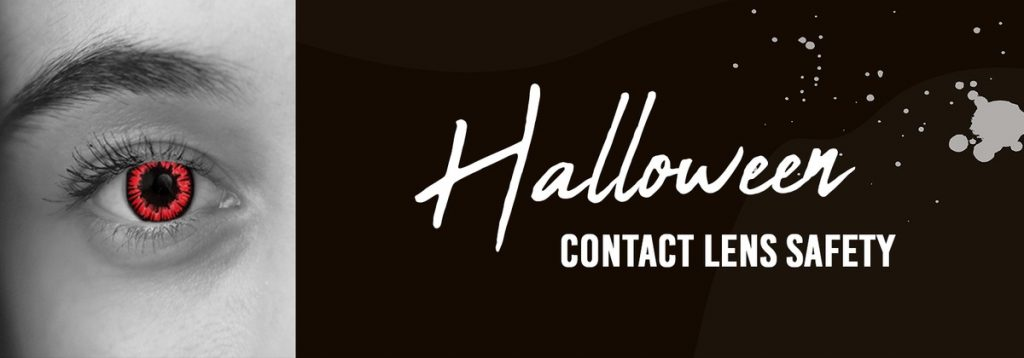 eye safety of Halloween contact lenses