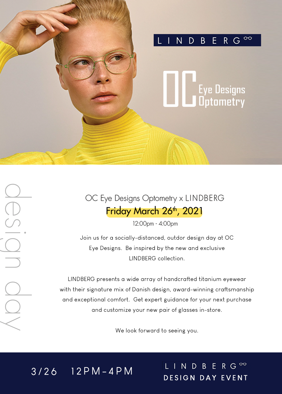 Lindberg eyewear design event