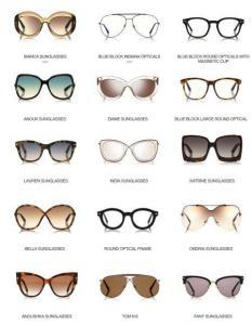 Tom Ford women's eyewear collection